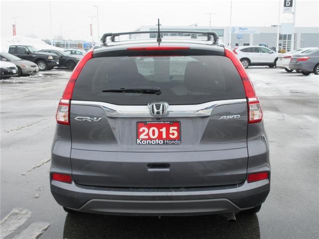 2015 Honda CR-V LX (Stk: K14190A) in Ottawa - Image 4 of 16