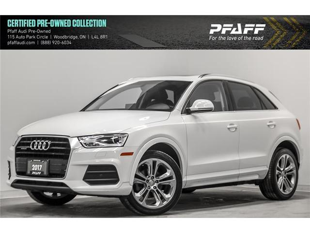 2017 Audi Q3 2.0T Progressiv (Stk: C6521A) in Woodbridge - Image 1 of 22