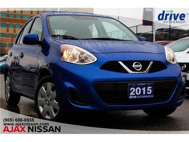 2015 Nissan Micra SV (Stk: U303A) in Ajax - Image 1 of 26