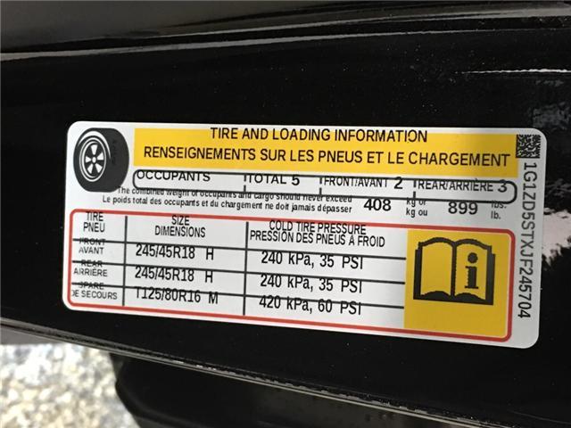 2018 Chevrolet Malibu LT (Stk: 34445R) in Belleville - Image 27 of 30