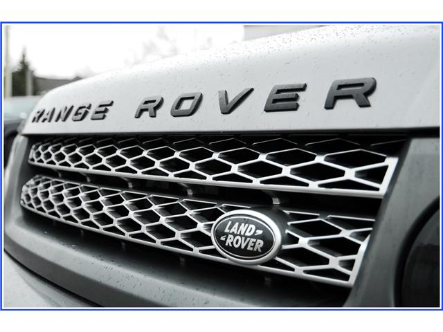 2011 Land Rover Range Rover Sport Supercharged SUPERCHARGED