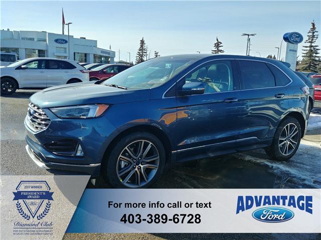 2019 Ford Edge Titanium (Stk: K-220) in Calgary - Image 1 of 6