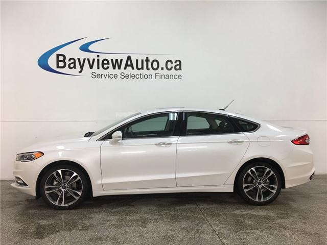 2018 Ford Fusion Titanium (Stk: 34561J) in Belleville - Image 1 of 30