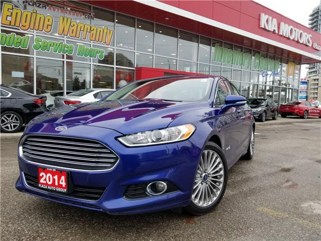 2014 Ford Fusion Hybrid Titanium (Stk: P471LA) in Richmond Hill - Image 1 of 22