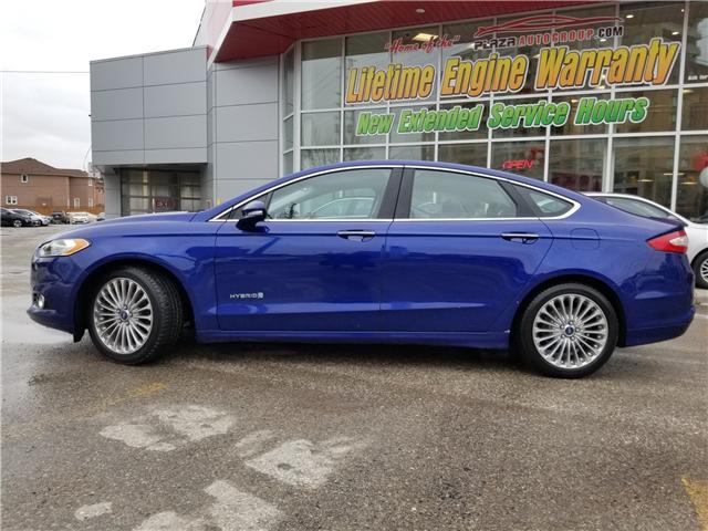 2014 Ford Fusion Hybrid Titanium (Stk: P471LA) in Richmond Hill - Image 2 of 22