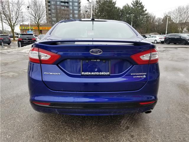 2014 Ford Fusion Hybrid Titanium (Stk: P471LA) in Richmond Hill - Image 4 of 22