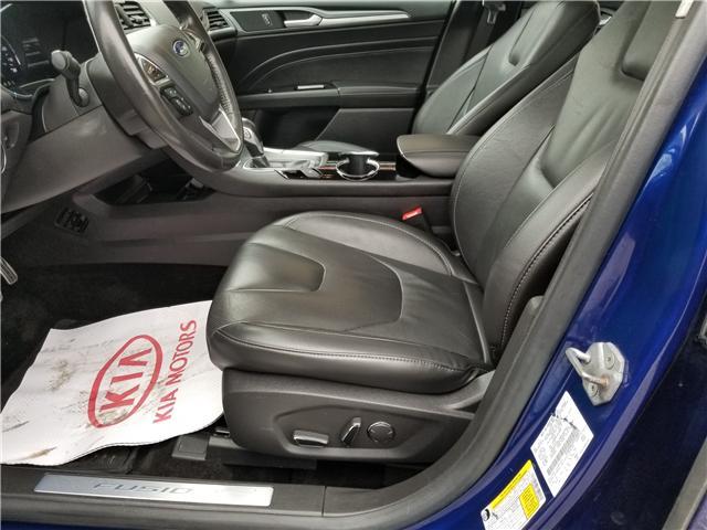2014 Ford Fusion Hybrid Titanium (Stk: P471LA) in Richmond Hill - Image 11 of 22