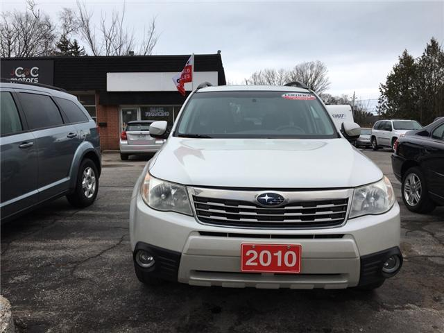 2010 Subaru Forester 2.5 X (Stk: 003) in Cobourg - Image 5 of 10