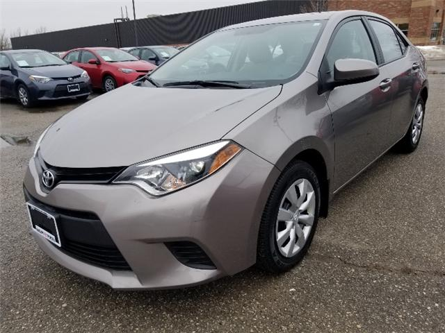 2014 Toyota Corolla LE (Stk: U01215) in Guelph - Image 1 of 18