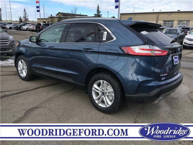 2019 Ford Edge SEL (Stk: K-263) in Calgary - Image 3 of 5