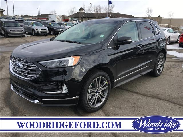 2019 Ford Edge Titanium (Stk: K-1204) in Calgary - Image 1 of 5