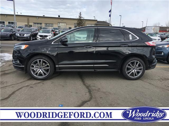 2019 Ford Edge Titanium (Stk: K-1204) in Calgary - Image 2 of 5