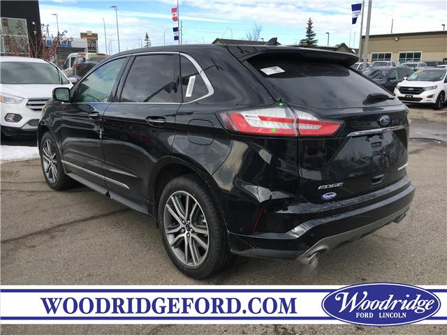 2019 Ford Edge Titanium (Stk: K-1204) in Calgary - Image 3 of 5