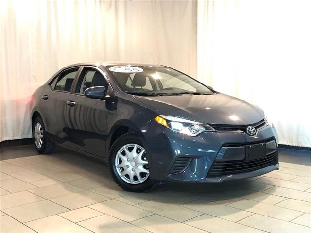 2015 Toyota Corolla LE w/ Automatic Transmission | A/C (Stk: K31540) in Toronto - Image 1 of 29