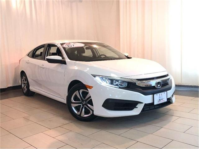 2017 Honda Civic LX | Honda Certified Used Vehicle | Clean Carfax (Stk: 38572) in Toronto - Image 1 of 29