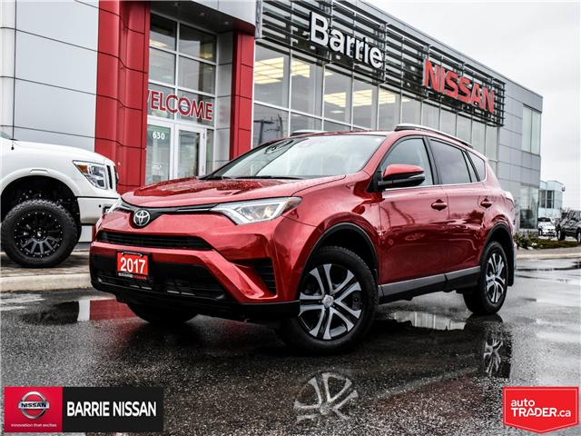 2017 Toyota RAV4 LE (Stk: 19092A) in Barrie - Image 1 of 27