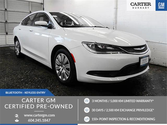 2015 Chrysler 200 LX (Stk: E8-87761) in Burnaby - Image 1 of 23