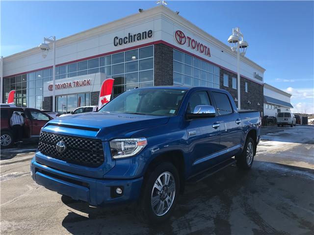 2018 Toyota Tundra Platinum 5.7L V8 (Stk: 190163A) in Cochrane - Image 1 of 13