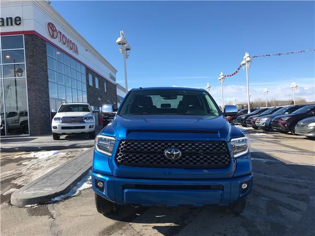 2018 Toyota Tundra Platinum 5.7L V8 (Stk: 190163A) in Cochrane - Image 2 of 13
