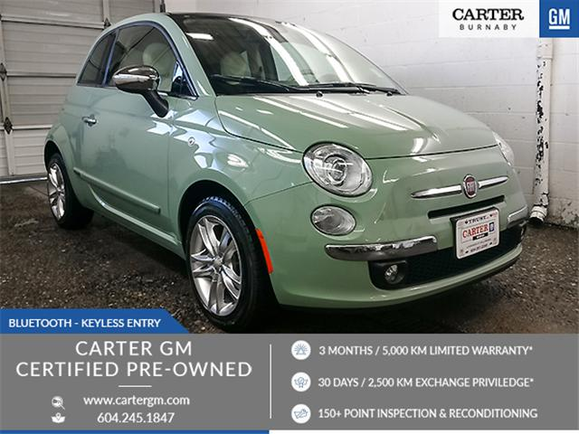 2015 Fiat 500 Lounge (Stk: B9-92851) in Burnaby - Image 1 of 24