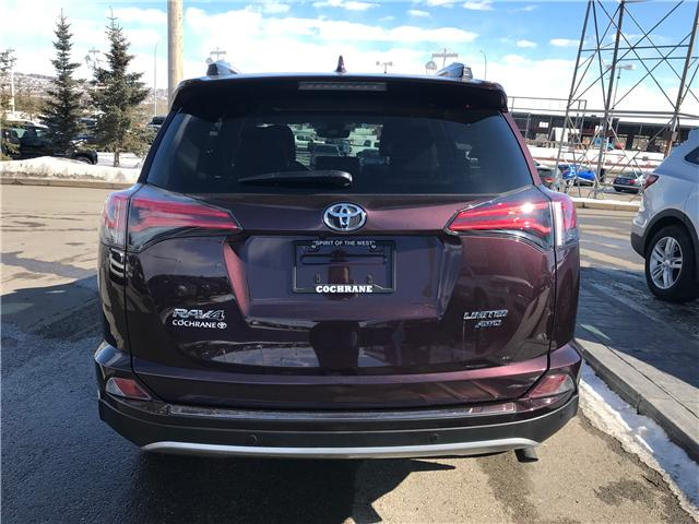 2018 Toyota RAV4 Limited (Stk: 190156A) in Cochrane - Image 4 of 13