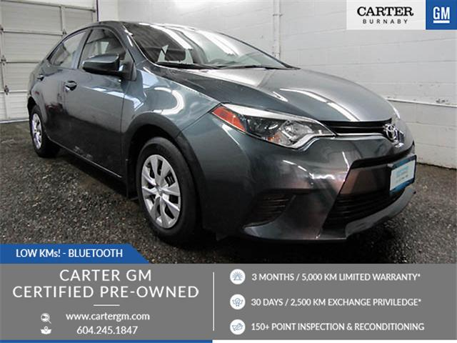 2014 Toyota Corolla CE (Stk: T4-69941) in Burnaby - Image 1 of 24
