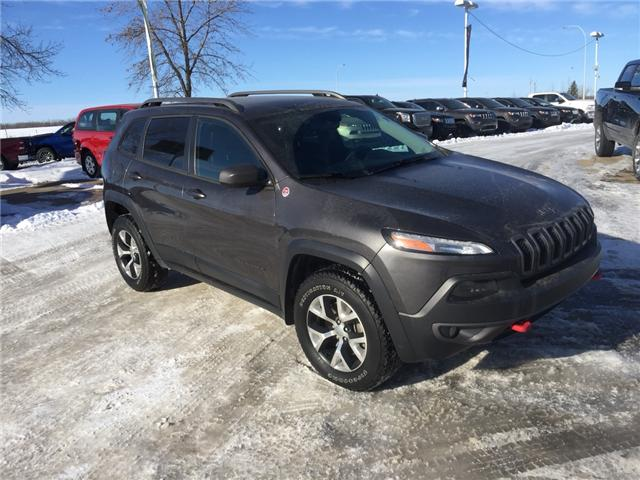 2014 Jeep Cherokee Trailhawk (Stk: 19CK7948A) in Devon - Image 2 of 13