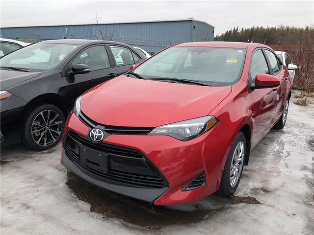 2019 Toyota Corolla LE (Stk: 9CR383) in Georgetown - Image 1 of 5
