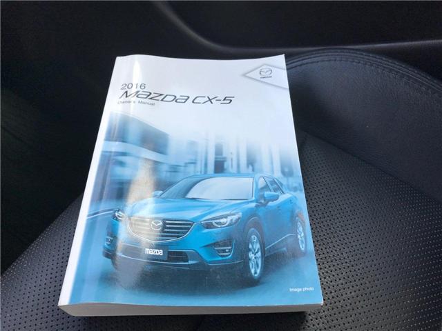 2016 Mazda CX-5 GS (Stk: P606087) in Saint John - Image 31 of 39