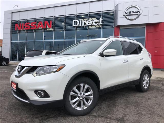 2015 Nissan Rogue SV | AWD | NO ACCIDENT | CPO (Stk: P0616) in Mississauga - Image 1 of 18