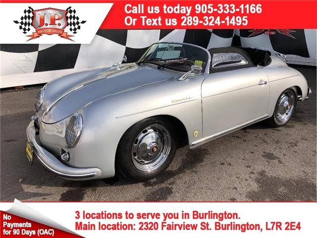 1957 Porsche 356 Vintage Speedster, Manual, Leather, Convertible (Stk: 46038) in Burlington - Image 1 of 22