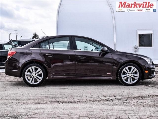 2015 Chevrolet Cruze 2LT-RS PKG-RF-LTHR-GM CERTIFIED PRE-OWNED-1 OWNER (Stk: P6300) in Markham - Image 9 of 29