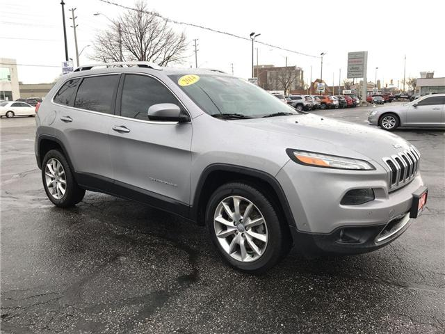 2014 Jeep Cherokee Limited (Stk: 19523A) in Windsor - Image 1 of 13