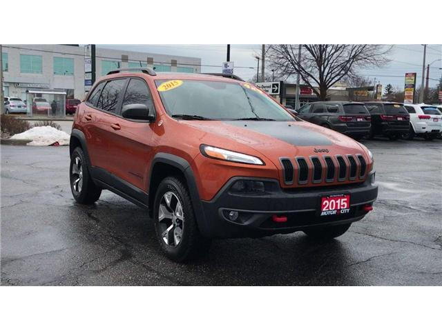 2015 Jeep Cherokee Trailhawk (Stk: 19831A) in Windsor - Image 2 of 14