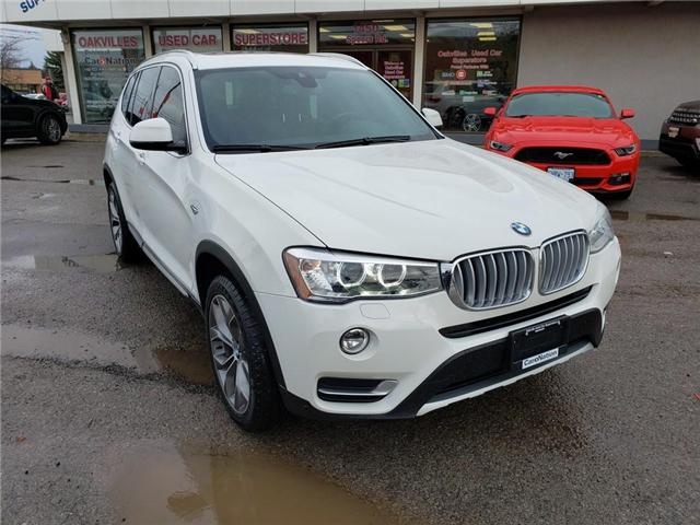 2016 BMW X3 xDrive28i | PANO | NAV | BROWN LEATHER | LOADED (Stk: P11913) in Oakville - Image 2 of 23