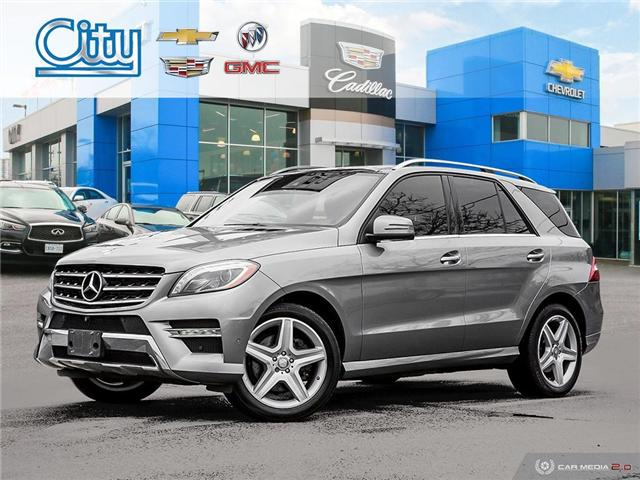 2014 Mercedes-Benz M-Class Base (Stk: 2925723A) in Toronto - Image 1 of 27