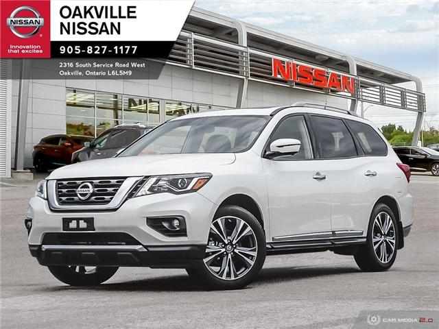2018 Nissan Pathfinder Platinum (Stk: N18408T) in Oakville - Image 1 of 26