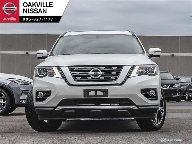 2018 Nissan Pathfinder Platinum (Stk: N18408T) in Oakville - Image 2 of 26