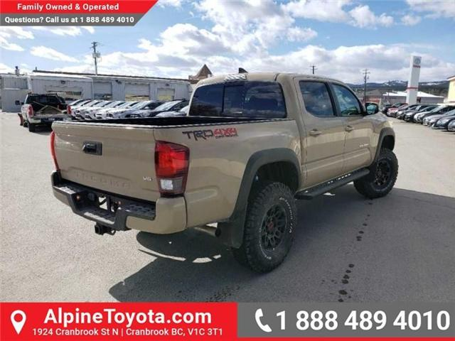 2019 Toyota Tacoma TRD Off Road (Stk: X178271) in Cranbrook - Image 5 of 18