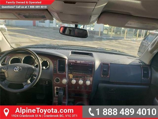 2013 Toyota Tundra SR5 5.7L V8 (Stk: X040806A) in Cranbrook - Image 12 of 20