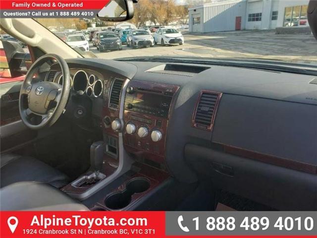 2013 Toyota Tundra SR5 5.7L V8 (Stk: X040806A) in Cranbrook - Image 13 of 20