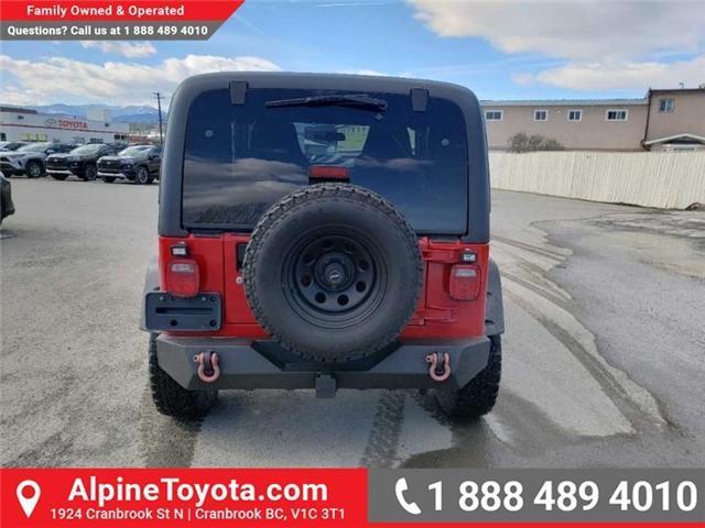 2003 Jeep TJ Sport (Stk: P344142) in Cranbrook - Image 4 of 15