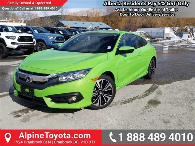 2016 Honda Civic EX-T (Stk: H425401) in Cranbrook - Image 1 of 13