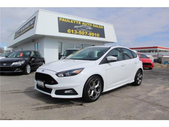 2018 Ford Focus Base (Stk: 2555) in Kingston - Image 1 of 11