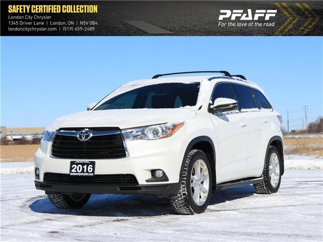2016 Toyota Highlander Limited (Stk: 9479A) in London - Image 1 of 24