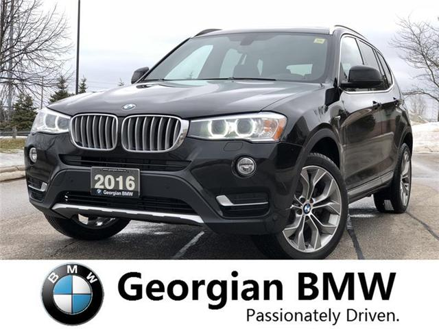 2016 BMW X3 xDrive28i (Stk: B18428T1) in Barrie - Image 2 of 20