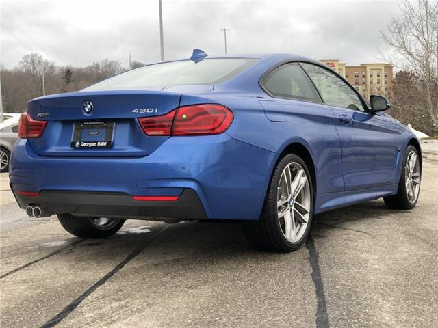 2019 BMW 430i xDrive (Stk: B19090) in Barrie - Image 8 of 19