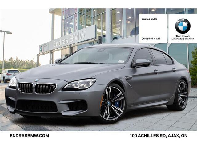 2016 BMW M6 Gran Coupe Base (Stk: P5785) in Ajax - Image 1 of 22