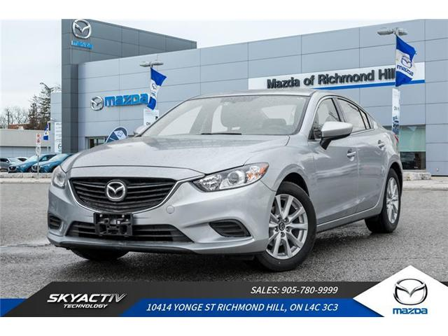 2016 Mazda MAZDA6 GS (Stk: P0368) in Richmond Hill - Image 1 of 20