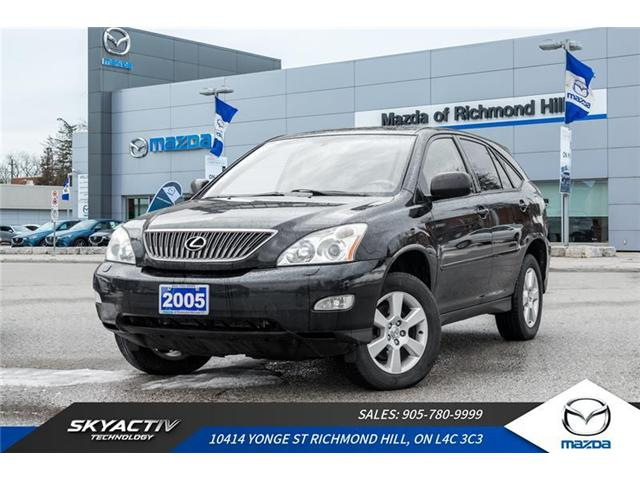 2005 Lexus RX 330 Base (Stk: P0369) in Richmond Hill - Image 1 of 19